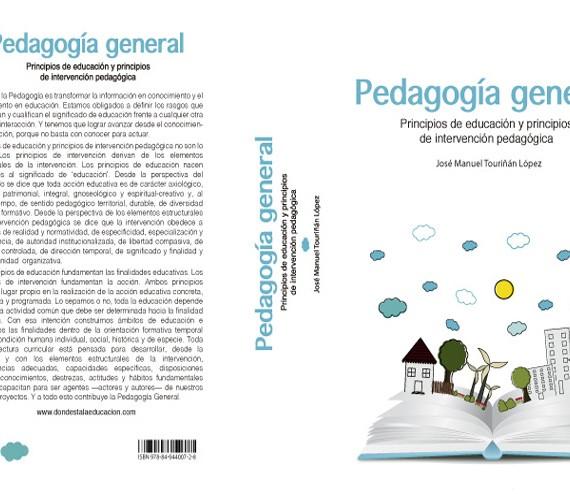 Pedagogía general_cubierta
